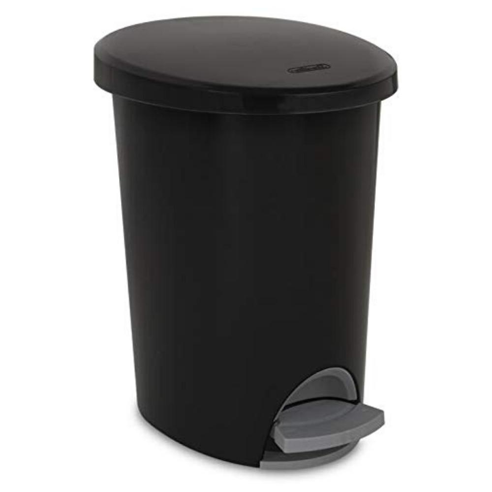 heavy duty garbage touchless bin bathroom kitchen