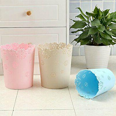 Hollow Shape Lidless Wastepaper Baskets Can