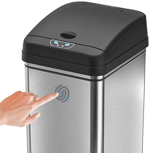 iTouchless 13 Automatic Touchless Can with AC Odor Filter Limited