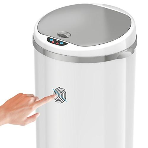 iTouchless Trash with Control System – – 49 Liter Kitchen