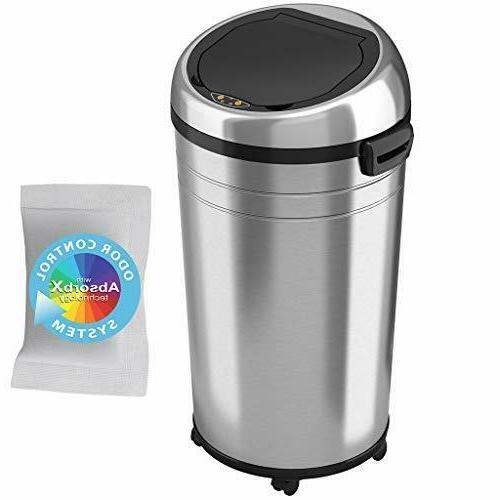 it23rc 23 commercial touchless trashcan