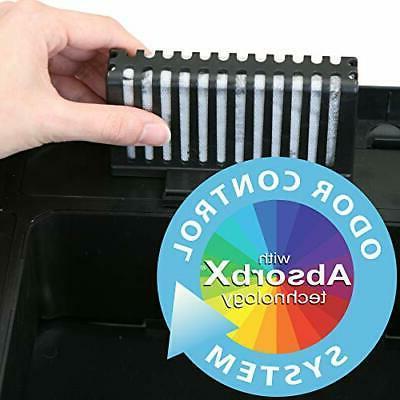 iTouchless 13 Gallon Pet-Proof Sensor Trash AbsorbX