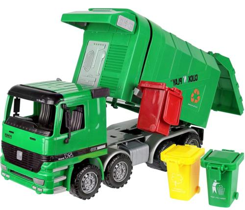 kids large garbage truck toy recycle vehicle