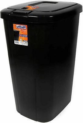 Kitchen 13 Gallon Bin Basket Black