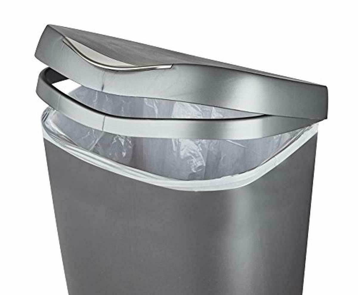 Umbra 13 Trash Can - Kitchen Garbage Can with Stainle