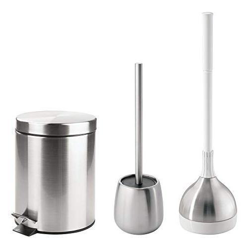 mdesign bathroom accessory set