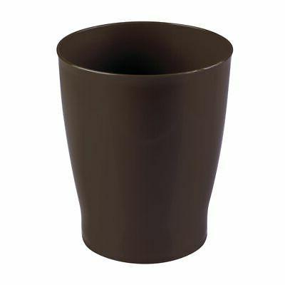 mdesign franklin wastebasket trash can