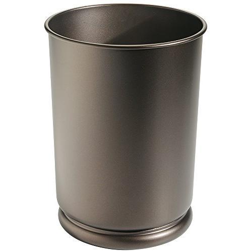 mdesign tall wastebasket trash can