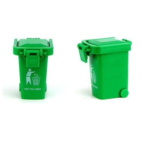 Mini 3 Trash Can Toy Garbage Original Curbside Vehicle Bin Toys