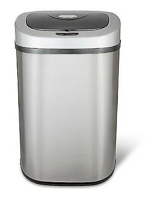 Nine Sensor Stainless Steel Trashcan