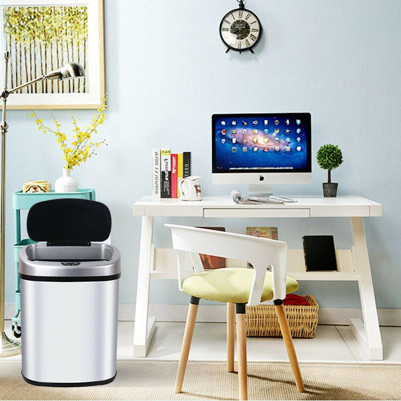 New Sensor Automatic Touchless Office Bin