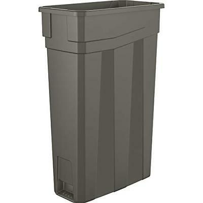 new 23 gallon commercial slim trash can