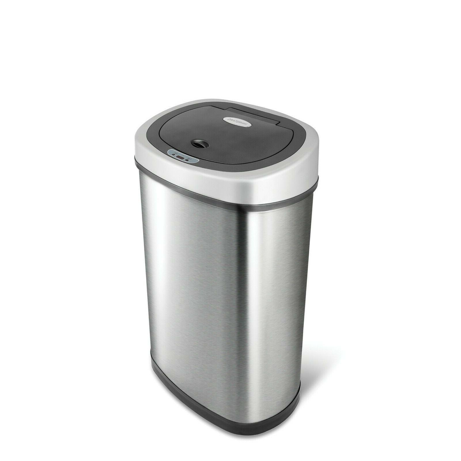NineStars Motion Sensor 13.2-Gallon Can Multi Color