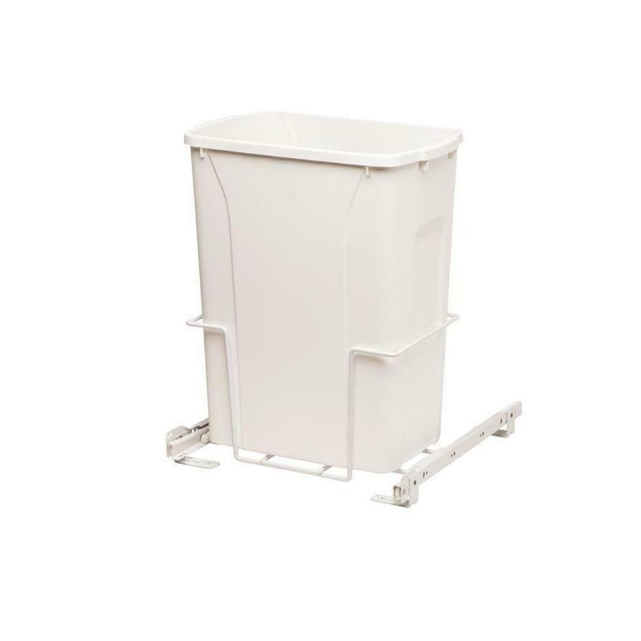 Plastic Pull Out qt Trash Garbage Basket Waste Under Sink