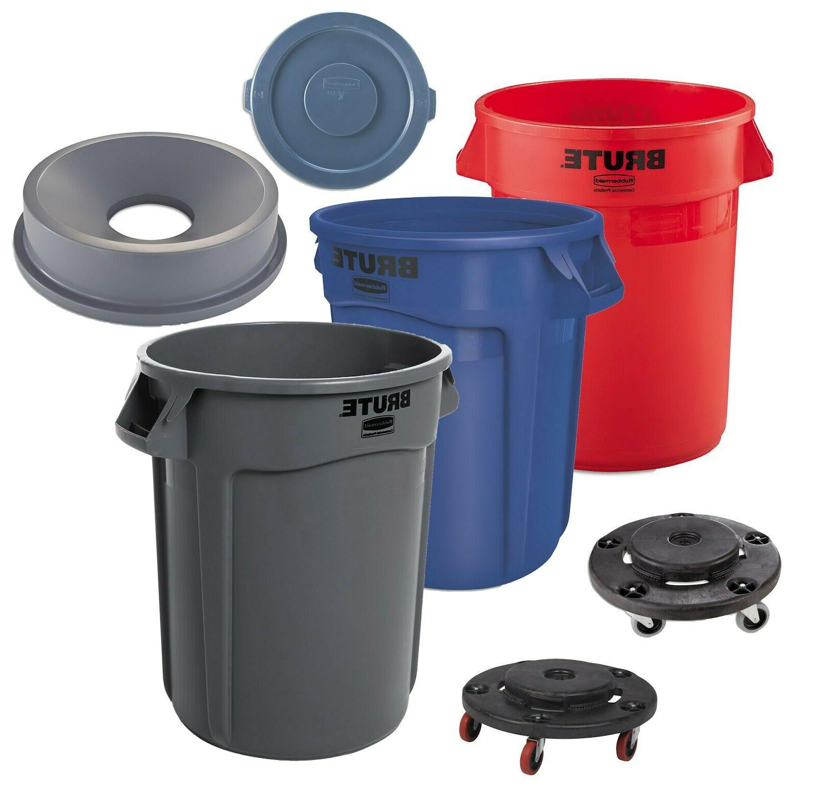 plastic trash can 32 gallon garbage funnel