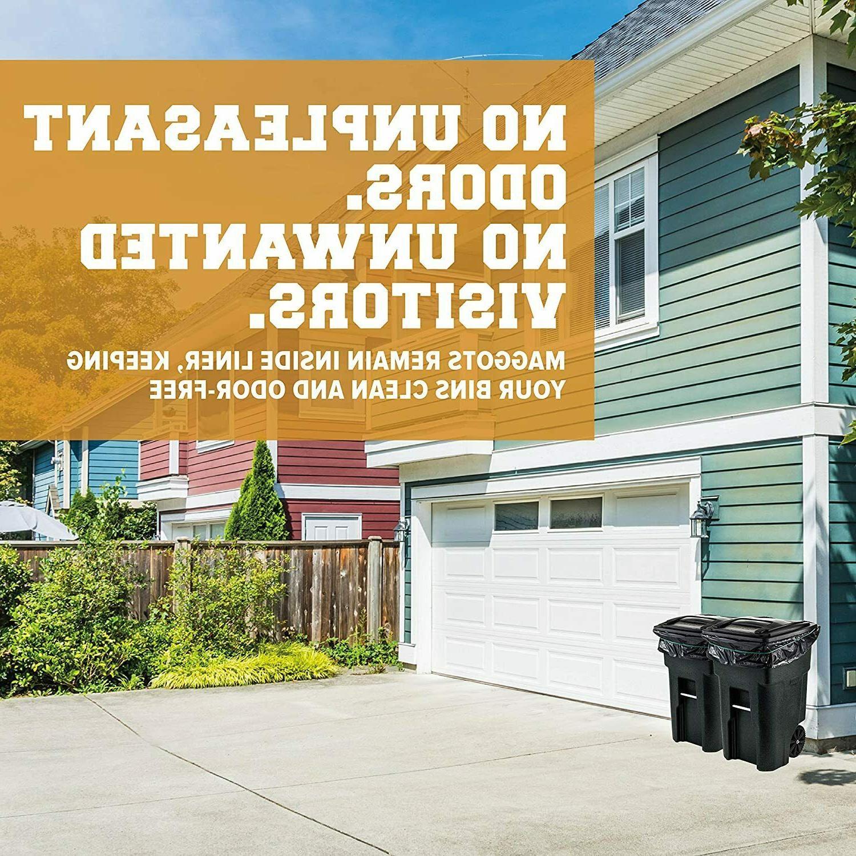 Plasticplace Gallon Trash Can │ │ Black Heavy