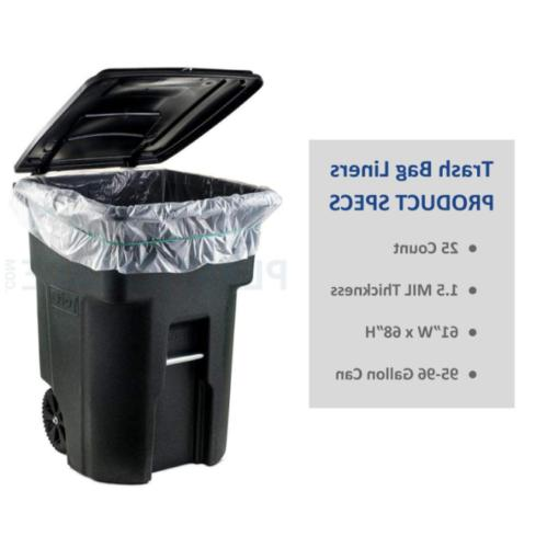 Plasticplace 95-96 Can Trash