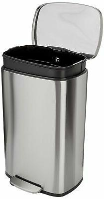 AmazonBasics Can - Liter, Satin Nickel