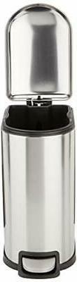 AmazonBasics Rectangle Can for Narrow - 10L 2.6 gallon