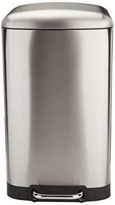 Rectangle Soft-Close with - 40L, Nickel, New