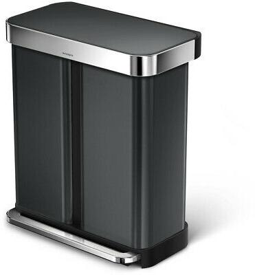 recycler dual compartment trash can