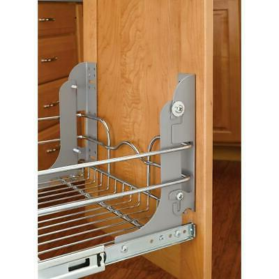 rev a shelf metal pull out trash