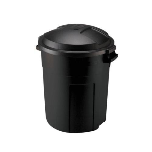 Roughneck Black Round Trash Heavy 20gal