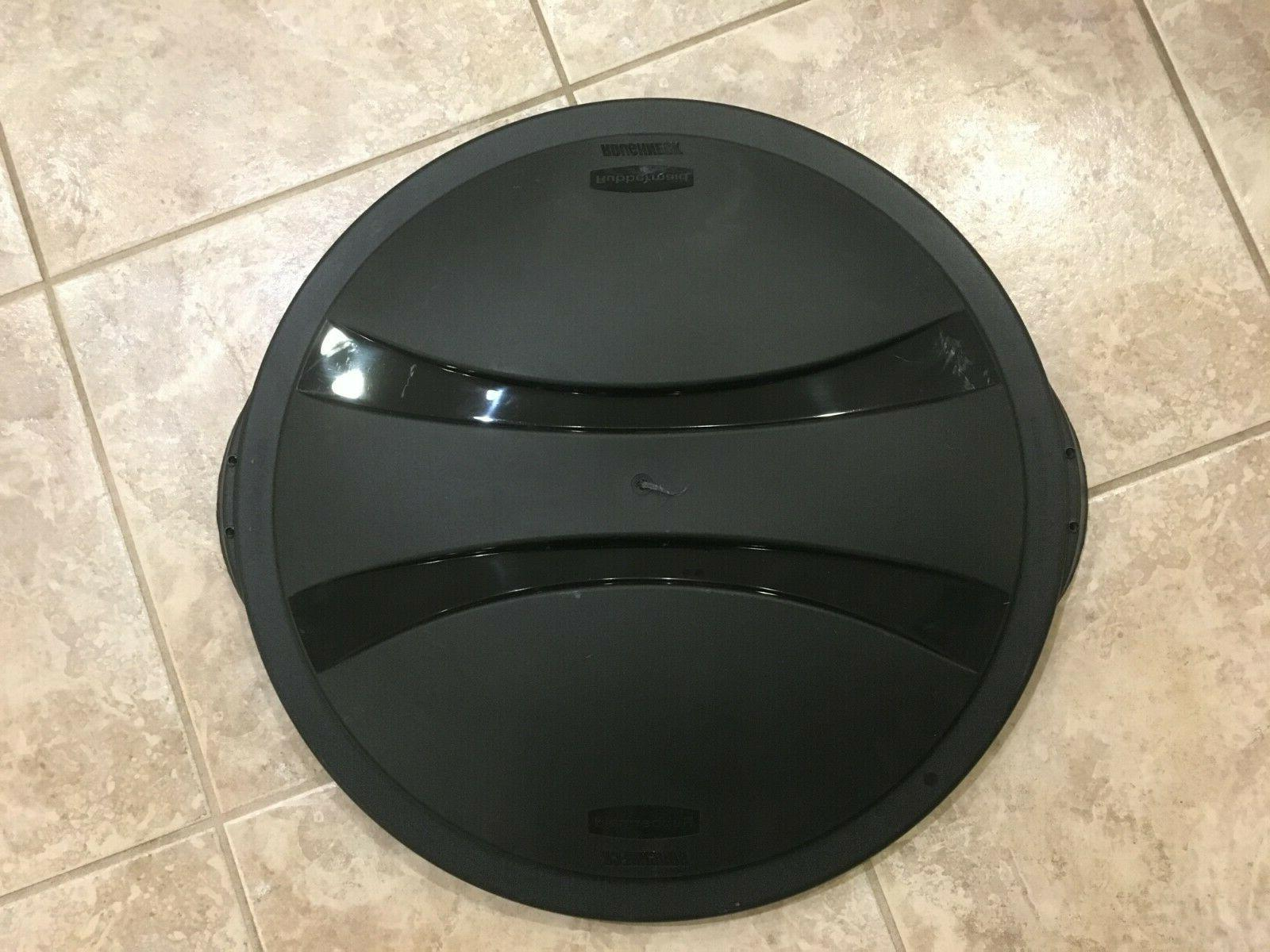 roughneck round trash can lid 32 gallon