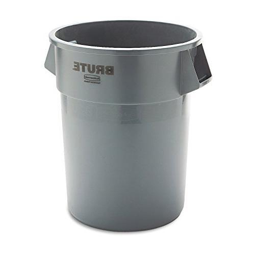 round brute waste container