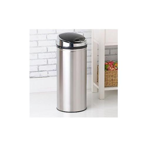 iTouchless Round Touchless Trash 13 Gallon Round