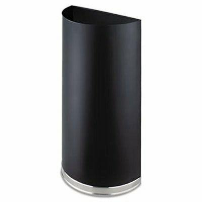 saf9940bl half round receptacle