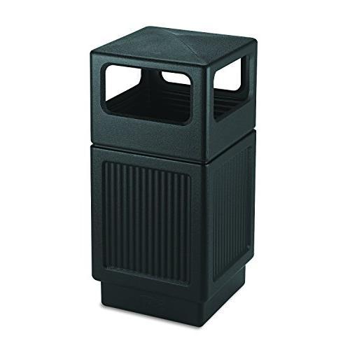 safco waste receptacle garbage bin