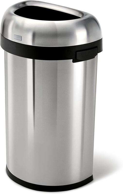 simplehuman 60 liter 15 9 gallon large