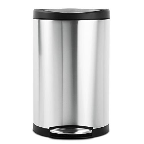 simplehuman Can, Stainless 40 10.5 Gallons,