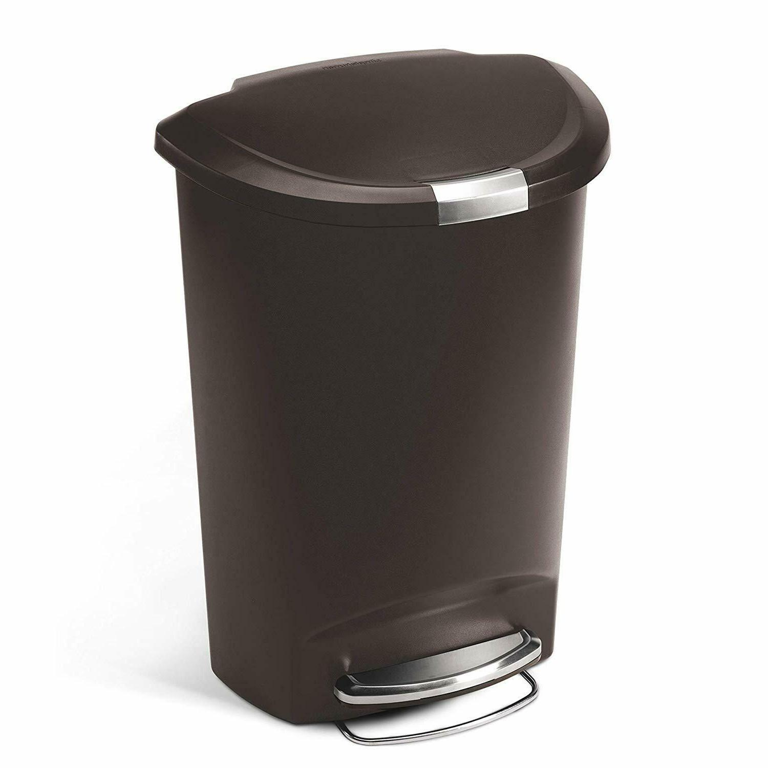 simplehuman Semi-Round Can,