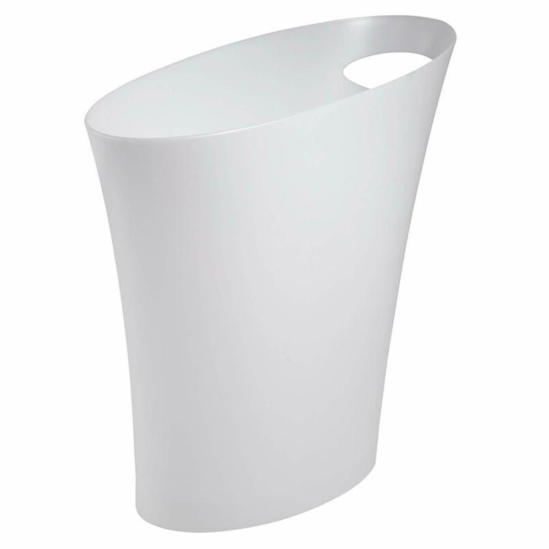 Umbra Skinny Sleek  Stylish Bathroom Trash, Small Garbage Ca
