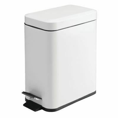 small step trash can garbage bin removable