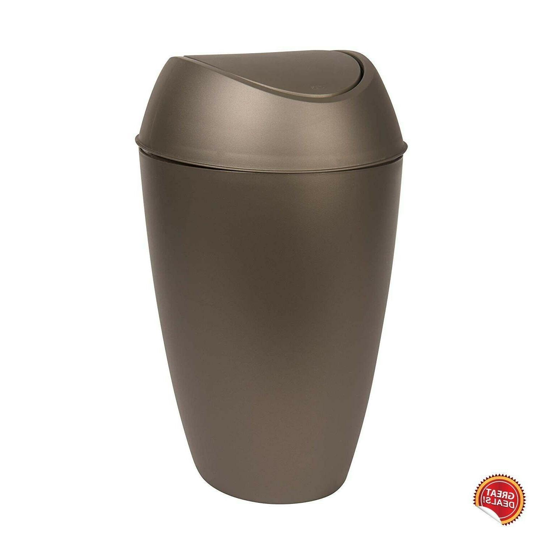 Small Can Lid Bathroom Bedroom Bin Kitchen Basket