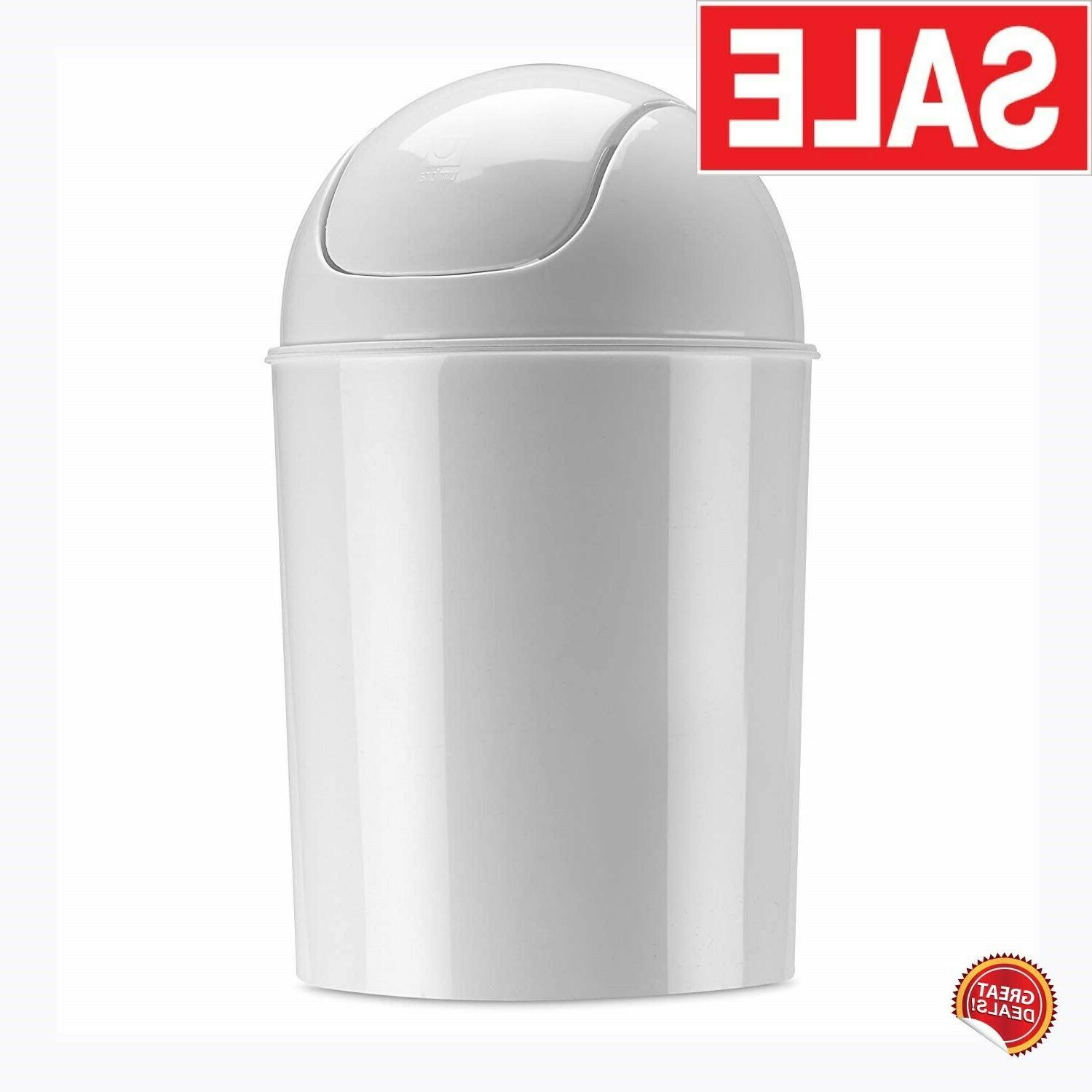 small trash can with lid bathroom kitchen bedroom