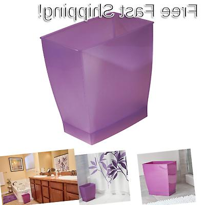 spa mono rectangle waste basket