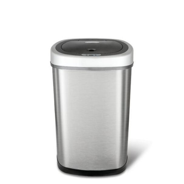 NineStars Steel Gallon Trash Can