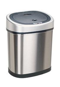11.8-Gal Stainless Steel Motion Sensor Trash Can