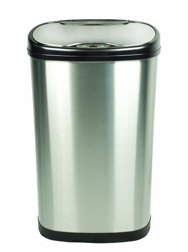 Nine Steel Sensored Can with Lid
