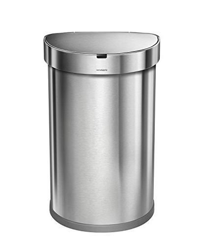 stainless steel semi round sensor