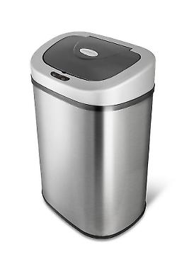 Stainless Steel Trash Can 21 Gallon Touch Free Automatic Sen