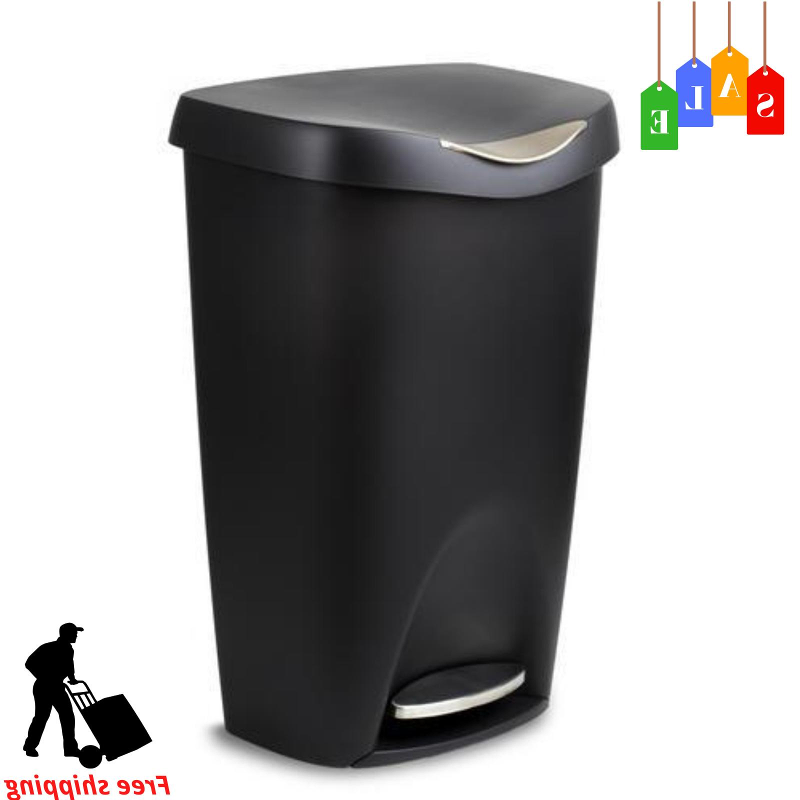 Step On Lid Trash Can for Home Kitchen & Bathroom Garbage 13