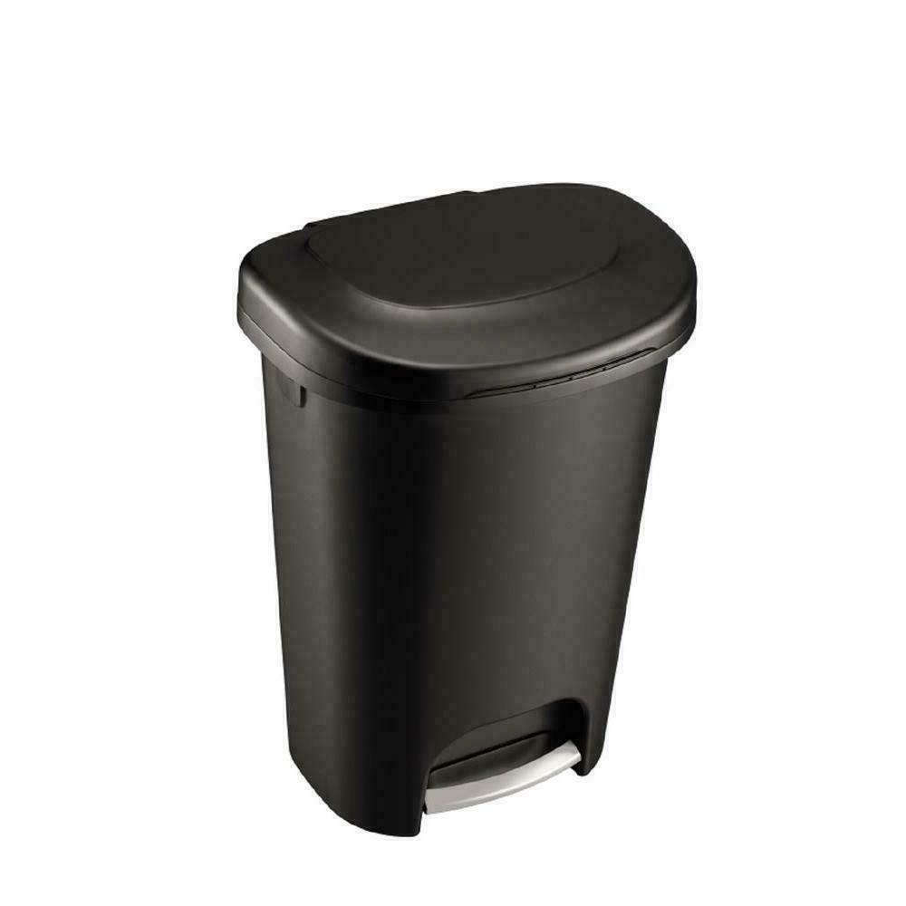 durable step on trash can garbage bin