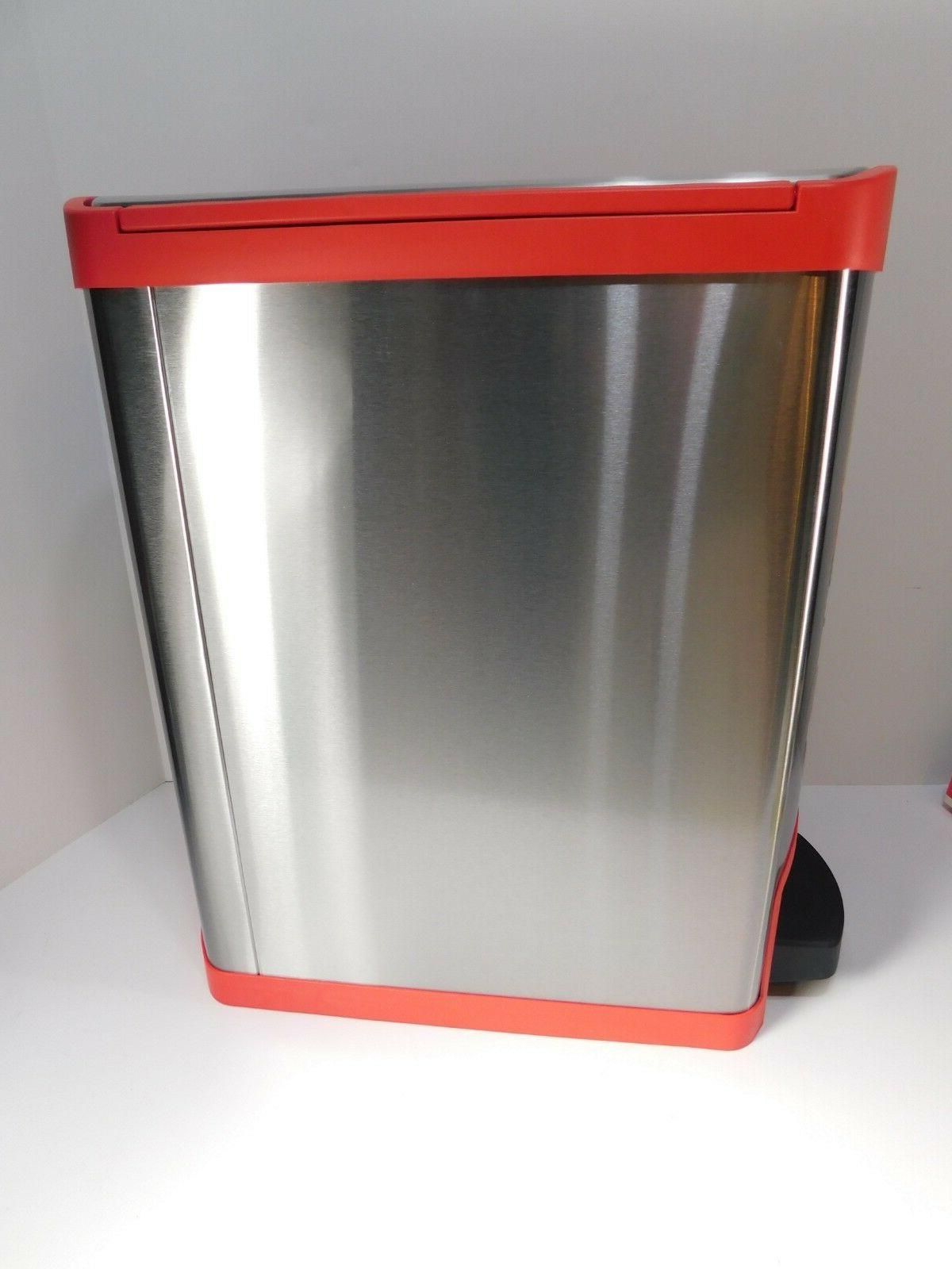 RUBBERMAID COMMERCIAL Step On Gallon Stainless