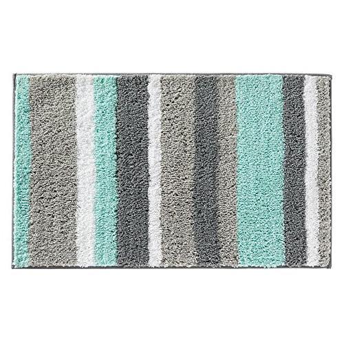 stripz microfiber bath rug