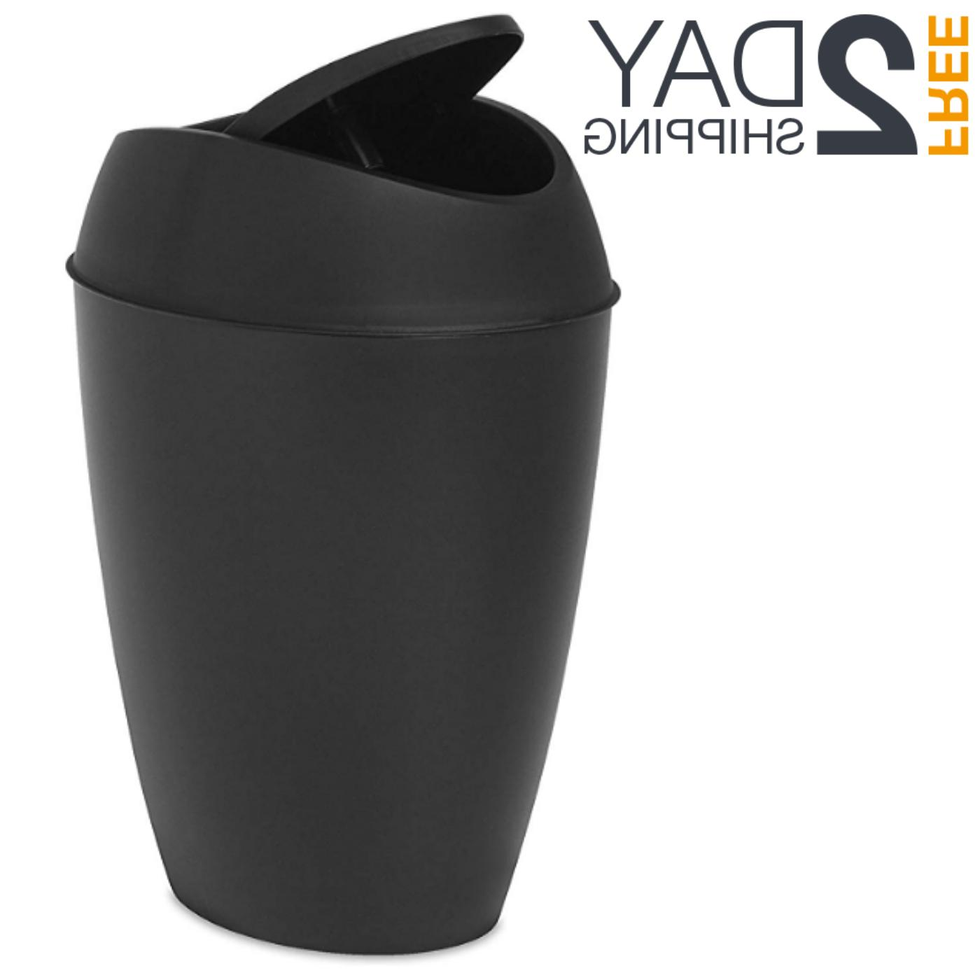 swing top lid kitchen bathroom office trash